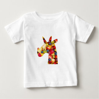 Unicorn Fruit Salad Baby T-Shirt