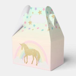 Unicorn Gable Favor Box