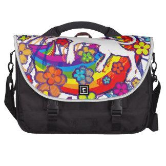 Unicorn_Gallop Laptop Bags