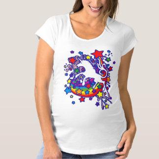 Unicorn_Gallop Maternity T-Shirt