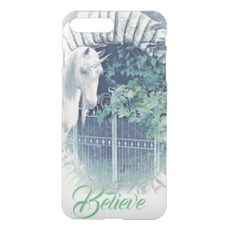 Unicorn garden iPhone case
