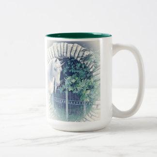 Unicorn garden mug