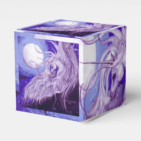 Unicorn Gift Box Favor Box