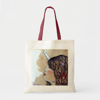 Unicorn Girl Tote Bag