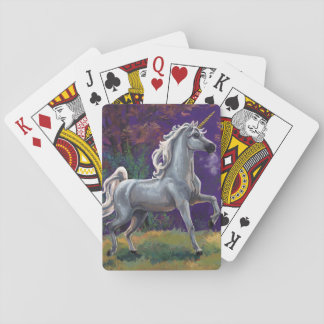 Unicorn Glade Playing Cards