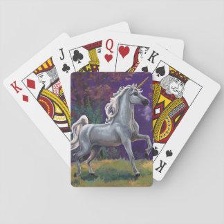 Unicorn Glade Poker Deck