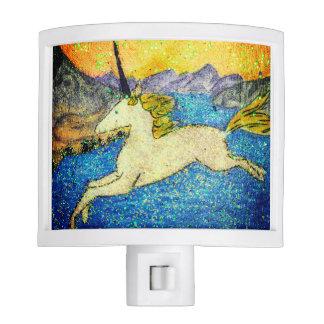 Unicorn gliding over Evolution Lake Night Lites