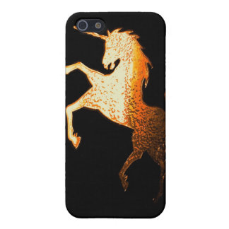 unicorn - golden iPhone 5 case
