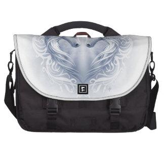 Unicorn Heart Laptop Messenger Bag