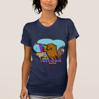 Unicorn Herd Rainbow T-Shirt