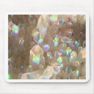 Unicorn Horn Aura Crystals Mouse Pad