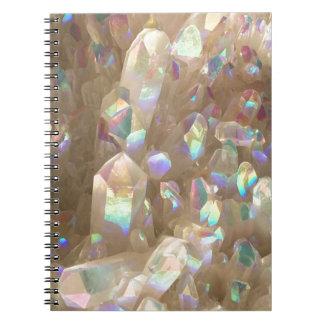 Unicorn Horn Aura Crystals Notebook