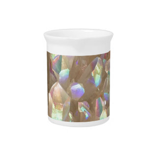 Unicorn Horn Aura Crystals Pitcher