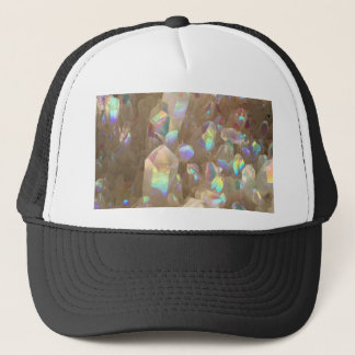 Unicorn Horn Aura Crystals Trucker Hat