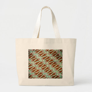 Unicorn Horn Rolls Large Tote Bag