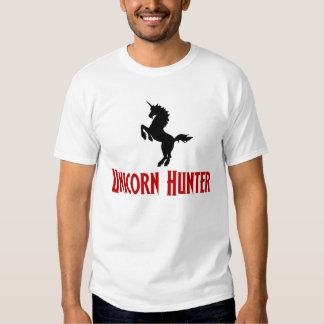 Unicorn Hunter (Black & Red) Shirts
