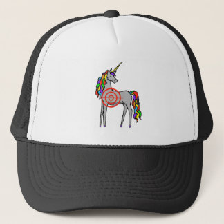 Unicorn Hunter Trucker Hat