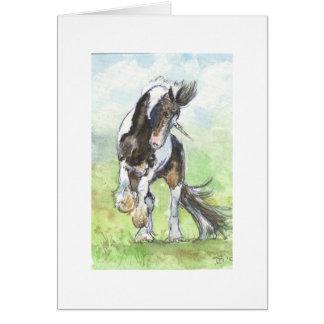 Unicorn Hybrid Greeting Card