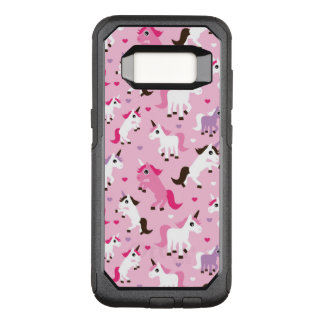 unicorn illustration kids background OtterBox commuter samsung galaxy s8 case