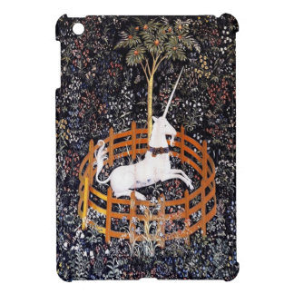 Unicorn in Captivity Tapestry iPad Mini Case