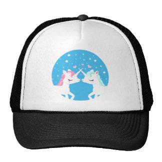 Unicorn in love shirt trucker hat