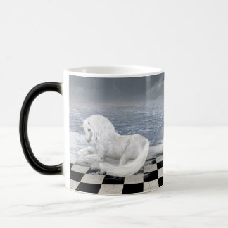 Unicorn in Surreal Seascape Morph Mug