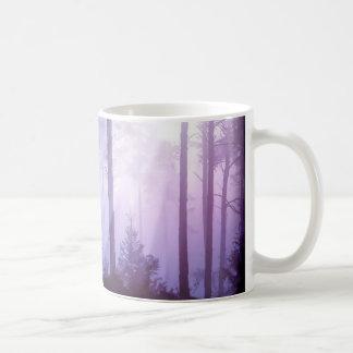Unicorn in the forest coffee mug
