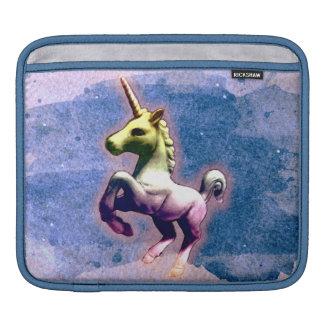 Unicorn iPad Sleeve (Burnt Blue)
