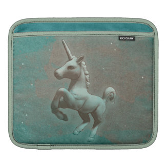 Unicorn iPad Sleeve (Teal Steel)