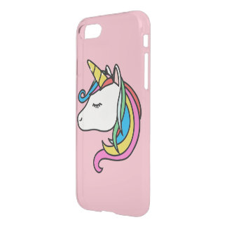 Unicorn iPhone 8/7 Clearly™ Deflector Case