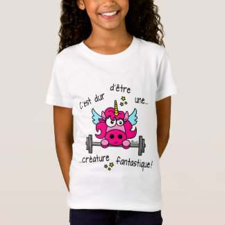 Unicorn, It is hard to be a Fantastic Creature T-Shirt