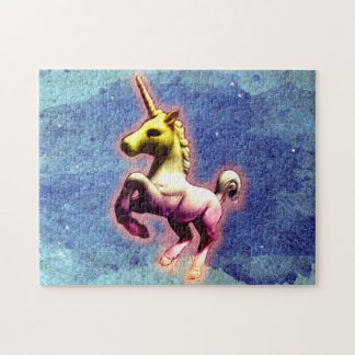 Unicorn Jigsaw Puzzle with Box (Galaxy Shimmer)