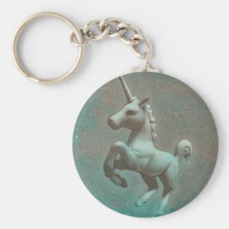 Unicorn Key Chain (Teal Steel)