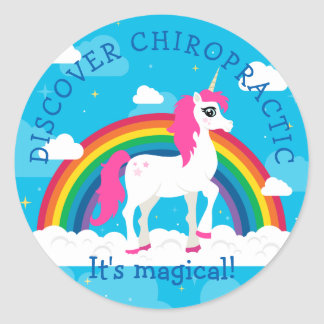 Unicorn Kids Chiropractic Stickers
