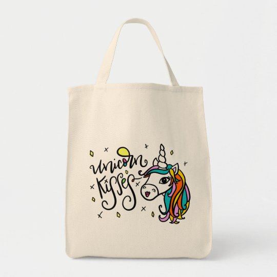Unicorn Kisses, hand-lettered