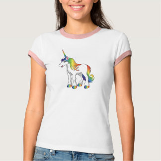Unicorn Ladies T Shirt