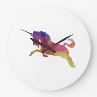 Unicorn Large Clock