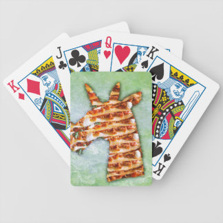 Unicorn Lasagna Bicycle Playing Cards