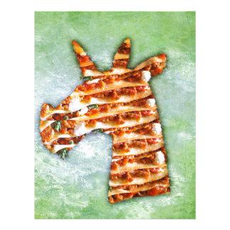 Unicorn Lasagna Letterhead