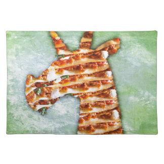 Unicorn Lasagna Placemat