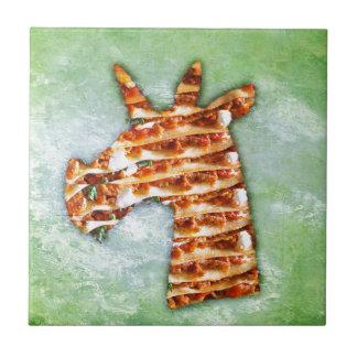 Unicorn Lasagna Tile