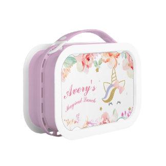 Unicorn Lunch box, Girls School Lunch box