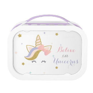 Unicorn Lunch box, Girls School Lunch box