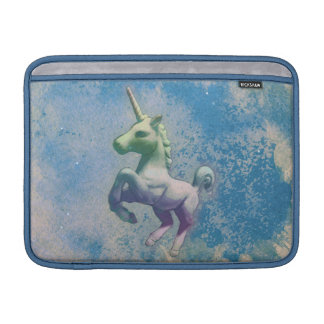 Unicorn Macbook Air Sleeve (Blue Arctic)