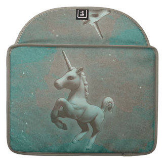 Unicorn Macbook Sleeve (Teal Steel)