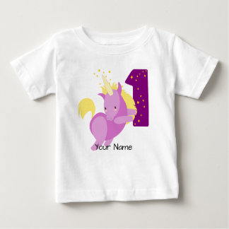 Unicorn Magic 1st Birthday Baby T-Shirt
