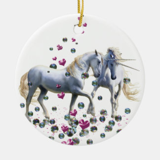Unicorn Magic Ceramic Ornament