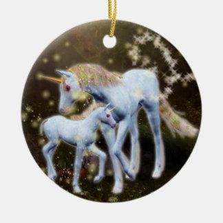 Unicorn Magic Ceramic Ornament