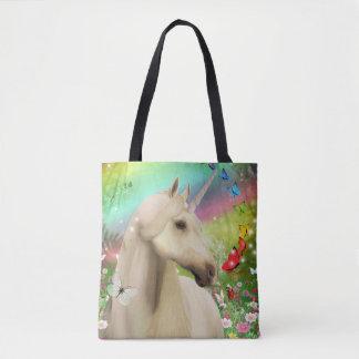 Unicorn Magic Rainbow Tote Bag