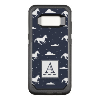 Unicorn Midnight Sky Pattern OtterBox Commuter Samsung Galaxy S8 Case